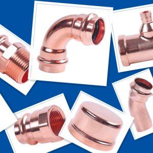 Lead-Free Wrot Copper & Cast Brass Press Fittings