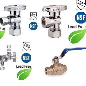 Brass Water Shut off Stop Series