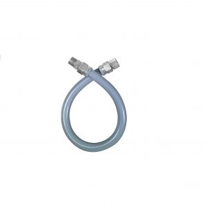 PVC Coated S.S Full Port Gas Connector